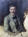 David Alison, Half length portrait of Mr James Bow Dunn (1861-1930)