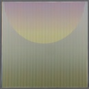 Carlos Cruz-Diez, Couleur Additive - Demi Cercle, from Serie Furru 2