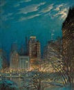 Orlando Rouland, Evening in New York City