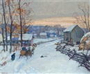 Edward Willis Redfield, Sleigh Days
