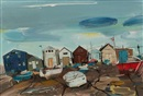 Hamish MacDonald, The fishermen's huts