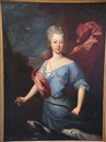 Follower Of Pierre Gobert, Portrait de Madame de Jamet en Diane chasseresse