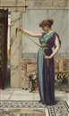 John William Godward, A Pompeian lady