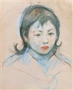 Berthe Morisot, Portrait d'enfant (Charly Thomas)