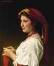 William Adolphe Bouguereau, Tricoteuse