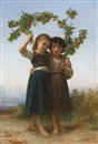 William Adolphe Bouguereau, La Branche de Cerisier (The Cherry Branch)