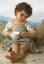 William Adolphe Bouguereau, La tasse de lait