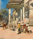 Edwin Lord Weeks, Portico of a mosque, Ahmedabad