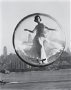 Melvin Sokolsky, Over New York, Harper's Bazaar cover