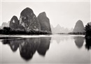 Michael Kenna, Lijiang River, Study 1, Guilin, China