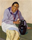 Walter Ufer, Man with Olla
