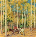 Ernest Martin Hennings, Indian Hunters
