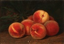 George Harvey, Still Life with Peaches