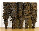 Ursula von Rydingsvard, Five Cones (in 5 parts)