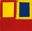 Mary Heilmann, Small Red Yellow and Blue Too