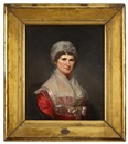 Charles Willson Peale, Portrait of Mrs. Robert Patterson III (Amy Hunter Ewing, 1751-1844)
