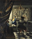 After Johannes (van Delft) Vermeer, The Art of Painting