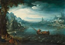 Paul Bril, Landscape with the calling of the apostles