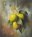 Jose Manuel Reyes, Still life of lemons