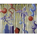 Kenny Scharf, Juicy Jungle and Untitled (2 works)