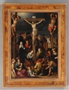 Follower Of Louis de Caullery, The crucifixion