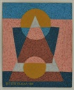 Emil James Bisttram, Abstract Image