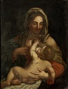 School Of Carlo Maratta, Madonna mit Kind
