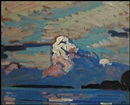 James Edward Hervey MacDonald, Evening Cloud, Lake Simcoe