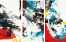 Marcelle Ferron, Untitled (triptych)