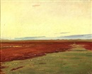 Michael Peter Ancher, Sunset over Brovandene near Skagen