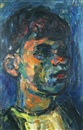 Pinchas Litvinovsky, Portrait of a young man