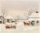 Grandma Moses, Home for Thankgiven