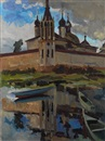 Alexander Markovich Imkhanitsky, Reflection of Spaso-Yakovlevsky Monastery, Rostov the Great