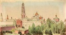 Konstantin Feodorovich Yuon, Views of Monasteries and Churches (7 works)