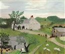 Grandma Moses, Watering the Horses