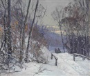 Edward Willis Redfield, Winter Scene