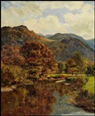 A. Lee Rogers, Mountain Landscape
