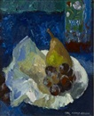 Mary Nicol Neill Armour, A pear on a plate