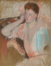 Mary Cassatt, Clarissa, Turned Left, with Her Hand to Her Ear