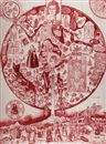 Grayson Perry, Map of Nowhere (Red)