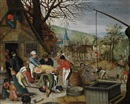 Studio Of Pieter Brueghel the Younger, An Allegory of Autumn