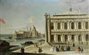 Attributed To Master of the Langmatt Foundation Views, The Piazzetta and Santa Maria della Salute, Venice