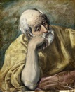 Attributed To El Greco, Saint Peter