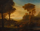 Follower Of Claude Lorrain, Südliche Ideallandschaft
