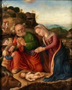 Workshop Of Giovanni Bellini, Anbetung des Kindes