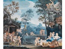 After Francesco Albani, Allegorische Szenerie