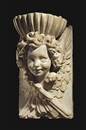 Circle Of Cosimo Fanzago, Font with the head of a winged cherub