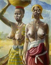 Victor Elford, Two sisters, West Africa