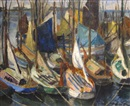 Edouard-Georges Mac-Avoy, Le port