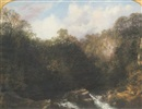 Thomas Doughty, Landscape with river